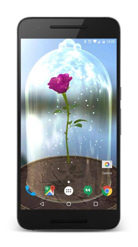 Скриншот Enchanted Rose для Android