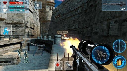 Скриншот Enemy Strike 2 для Android
