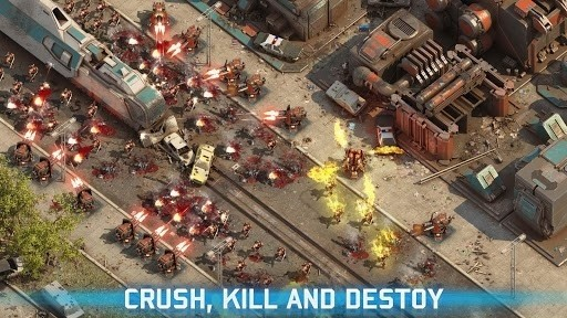 Скриншот Epic War TD 2 для Android