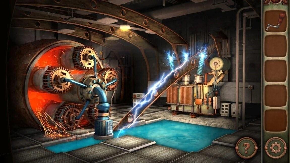Скриншот Escape Machine City для Android