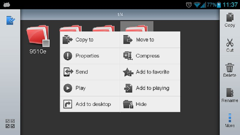Скриншот ES Проводник для Android