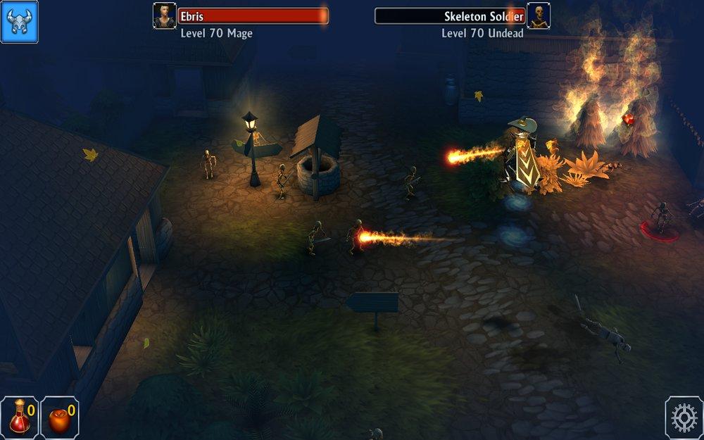Скриншот Eternium: Mage And Minions для Android