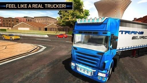Скриншот Euro Truck Driving 2018 для Android