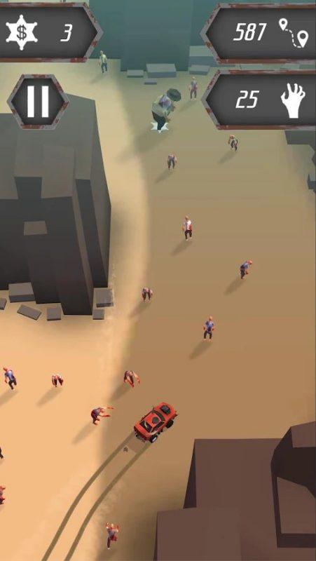 Скриншот Evil Car: Zombie Apocalypse для Android