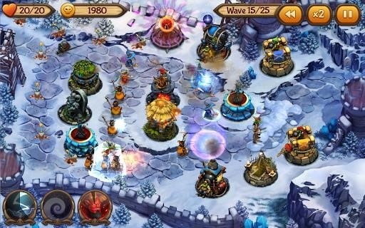 Скриншот Evil Defenders для Android