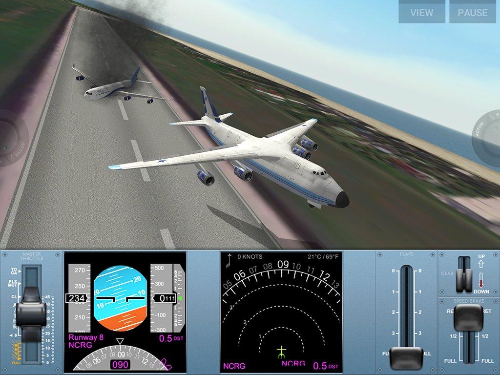 Скриншот Extreme Landings Pro для Android