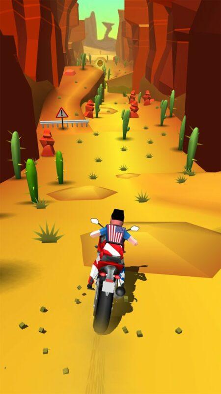 Скриншот Faily Rider для Android