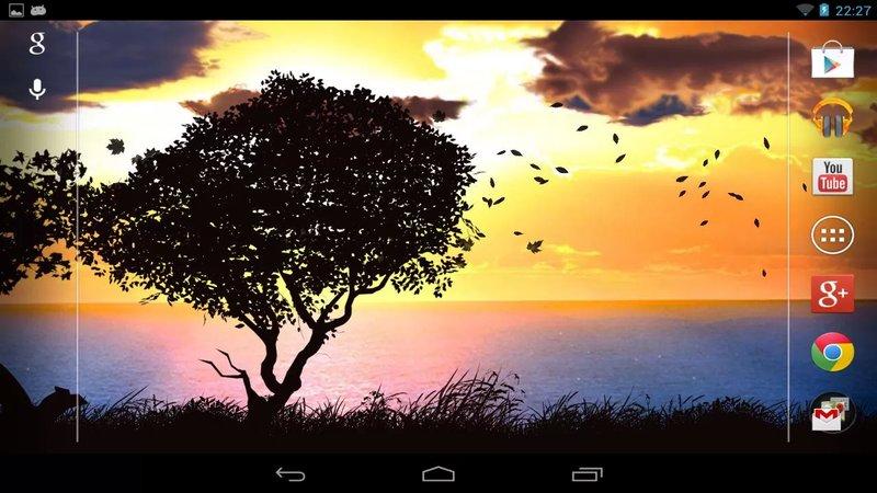 Скриншот Falling Leaves для Android