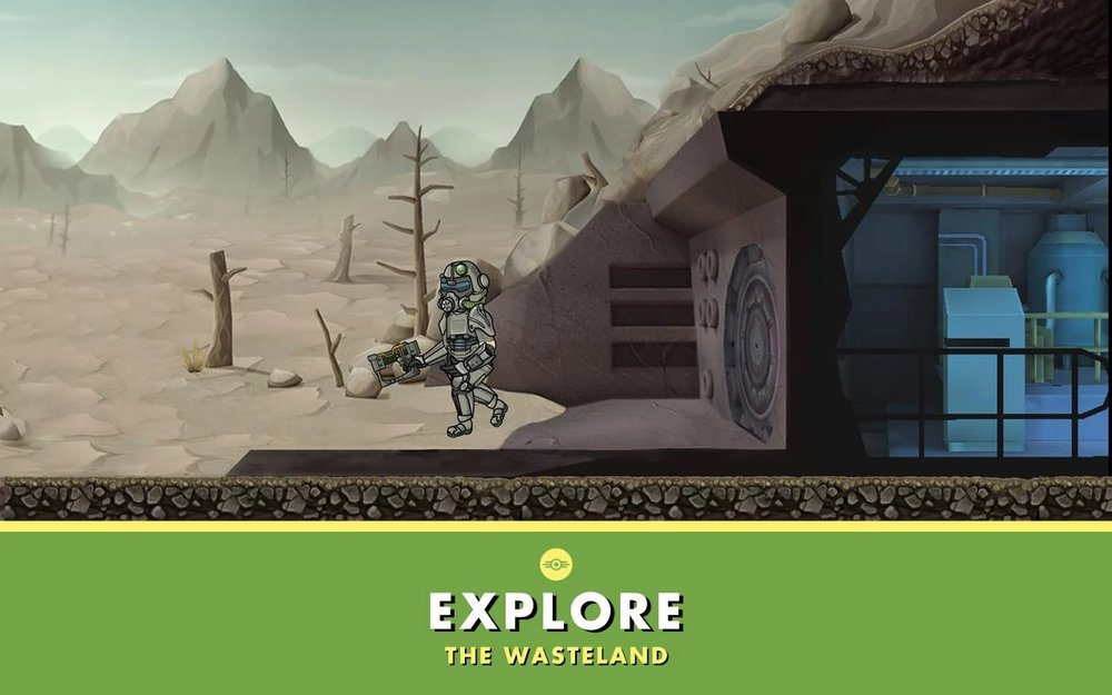 Скриншот Fallout Shelter для Android