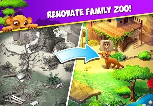 Скриншот Family Zoo: The Story для Android