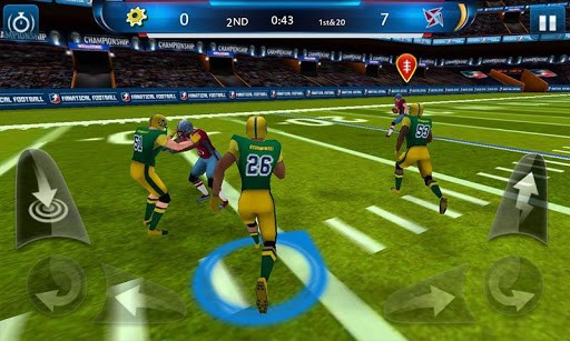 Скриншот Фанатическое регби — Football для Android