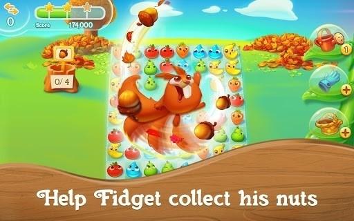 Скриншот Farm Heroes Super Saga для Android