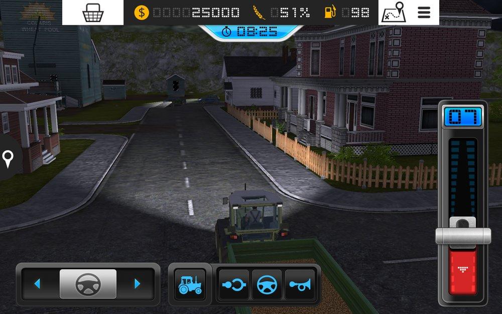 Скриншот Farming Simulator 16 для Android