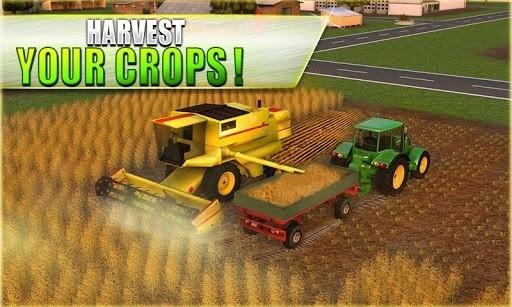 Скриншот Farm Tractor Simulator 3D для Android