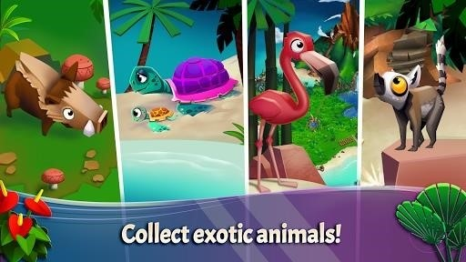 Скриншот FarmVille: Tropic Escape для Android