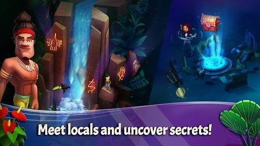 Скриншот FarmVille: Tropic Escape для Android