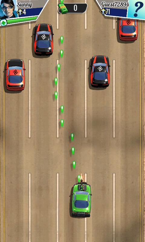 Скриншот Fastlane: Дорога Мести для Android