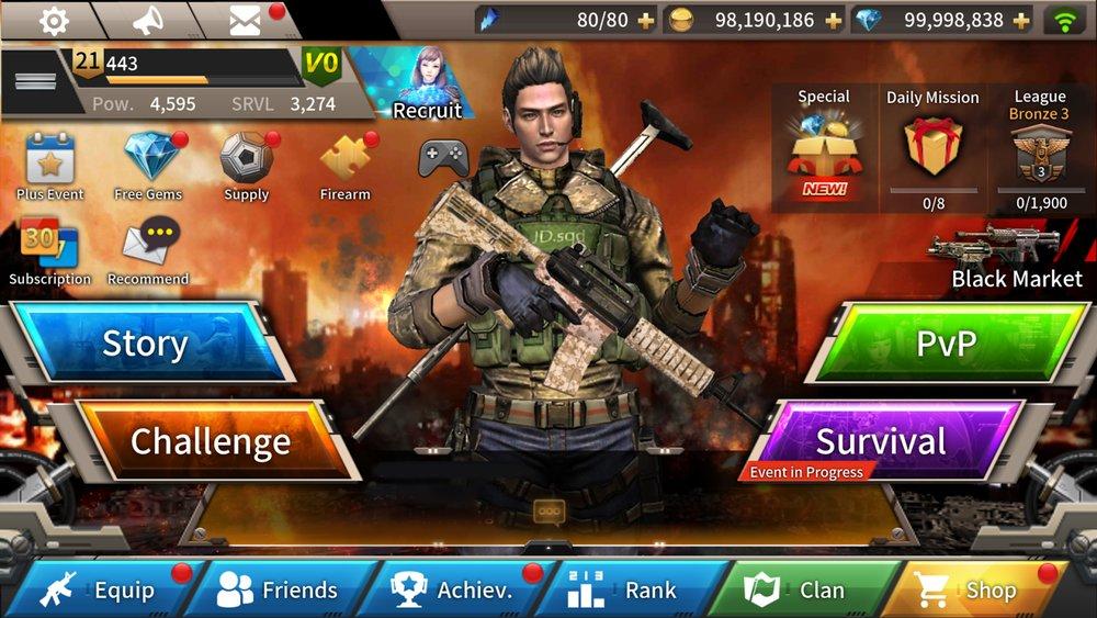 Скриншот Fatal Raid для Android