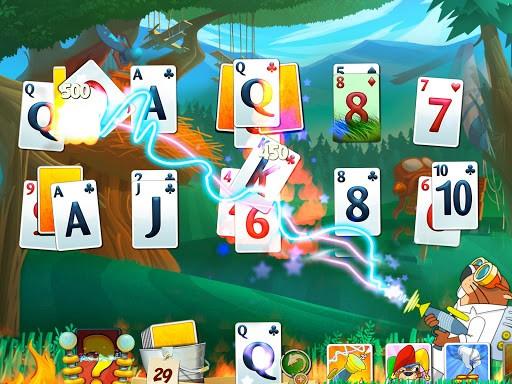 Скриншот Фервей Солитер Взрыв для Android