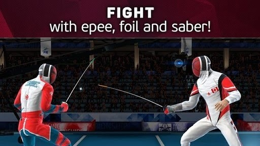 Скриншот FIE Swordplay для Android