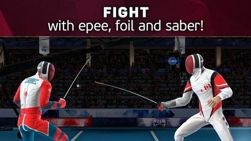 Скриншот FIE Swordplay для Android