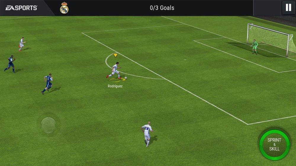 Скриншот FIFA Mobile Football для Android