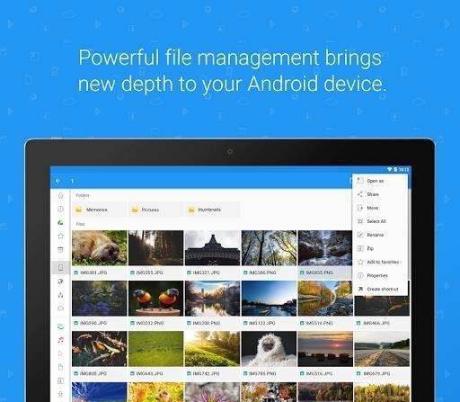 Скриншот File Commander для Android
