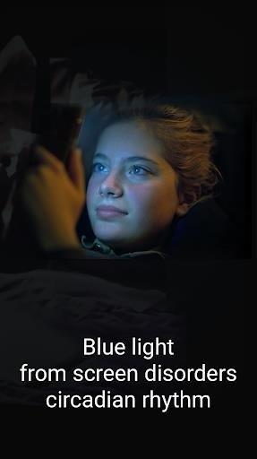 Скриншот Фильтр синего света для Android