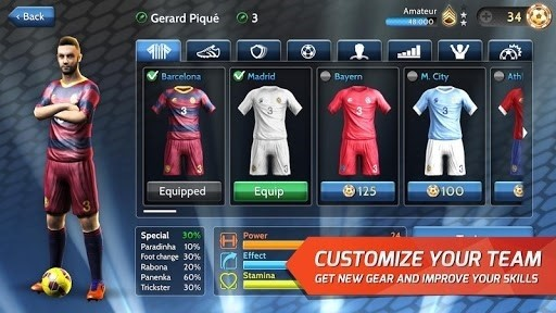 Скриншот Final Kick для Android