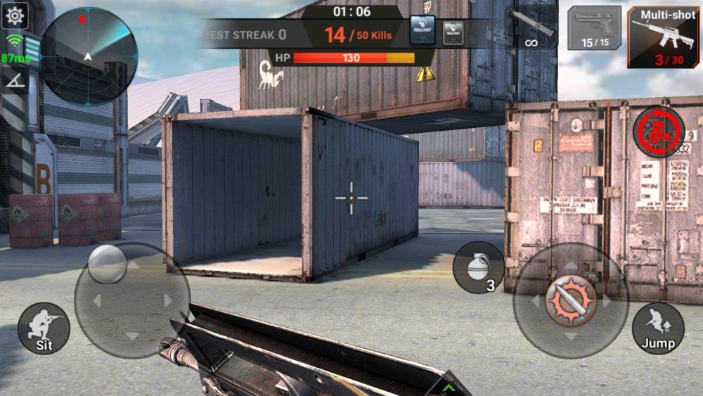 Скриншот Final Shot для Android