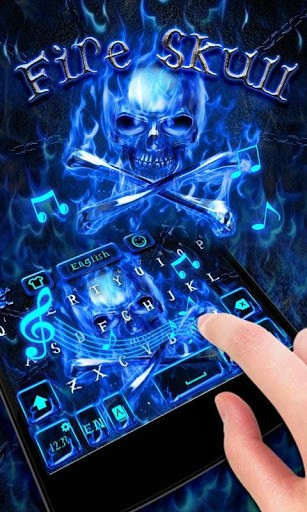 Скриншот Fire Skull для Android