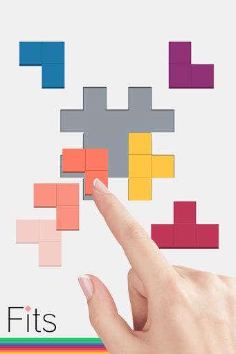 Скриншот Fits — Блок головоломка для Android