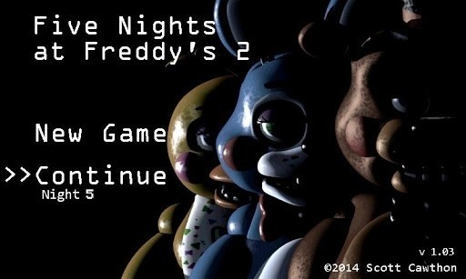 Скриншот Five Nights at Freddy's 2 Demo для Android