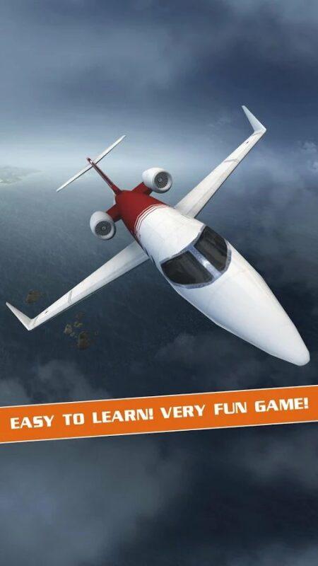 Скриншот Flight Pilot Simulator 3D для Android