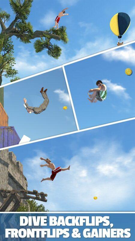 Скриншот Flip Diving для Android