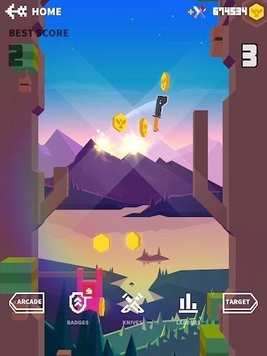 Скриншот Flippy Knife для Android