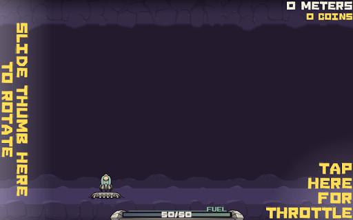 Скриншот Flop Rocket для Android