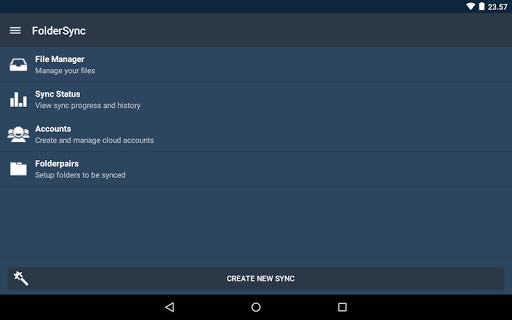 Скриншот FolderSync для Android