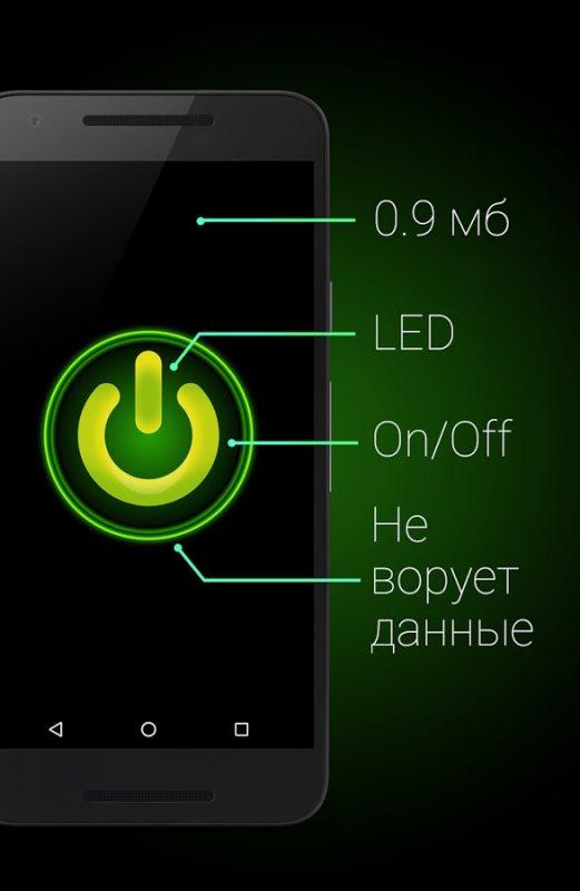 Скриншот Фонарик для Android