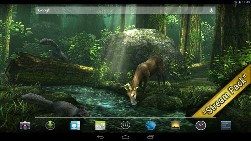 Скриншот Forest HD для Android