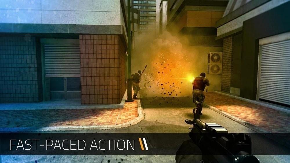 Скриншот Forward Assault для Android