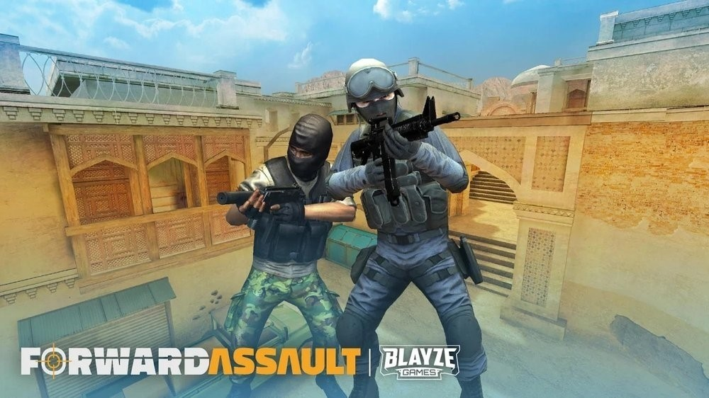 Скриншот Forward Assault для Android