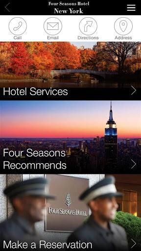 Скриншот Four Seasons для Android