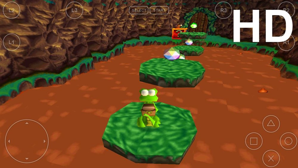 Скриншот FPse для Android