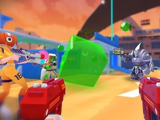 Скриншот FRAG Pro Shooter для Android