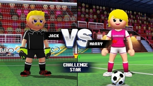 Скриншот Free Kick Football Strike для Android