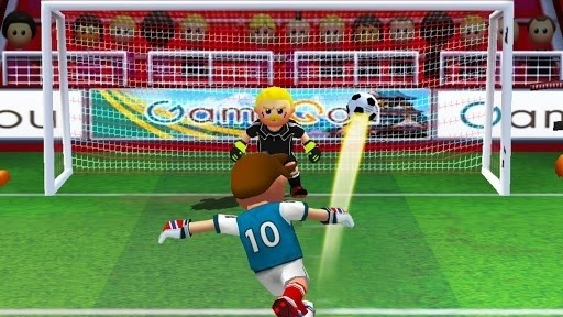 Скриншот Free Kick Football Strike для Android