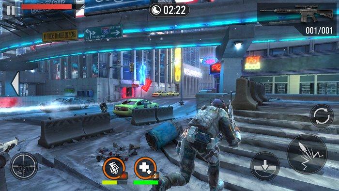 Скриншот Frontline Commando 2 для Android