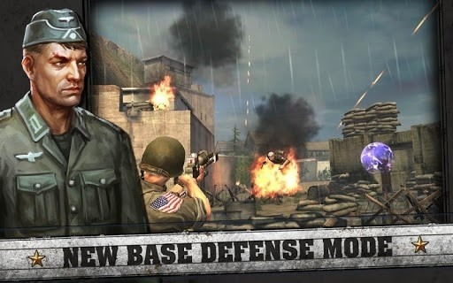 Скриншот Frontline commando: Rivals для Android