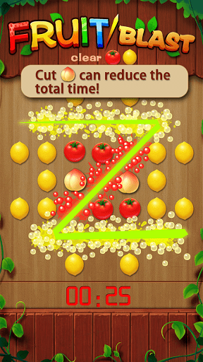 Скриншот Fruit Blast для Android